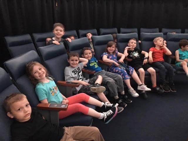 Seventy-two 1st Graders Visit SUNY New Paltz Planetarium