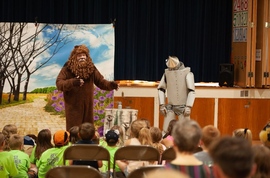 Live Interactive Theatre Bring Camp New Experiences